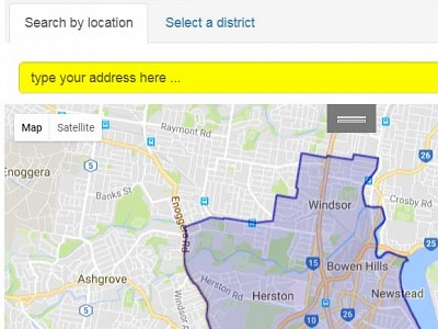 How do I check my electorate?